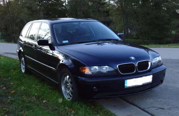 BMW 318i kombi 2,0 benzyna + gaz 130000Km 2004r., 24500 PLN
