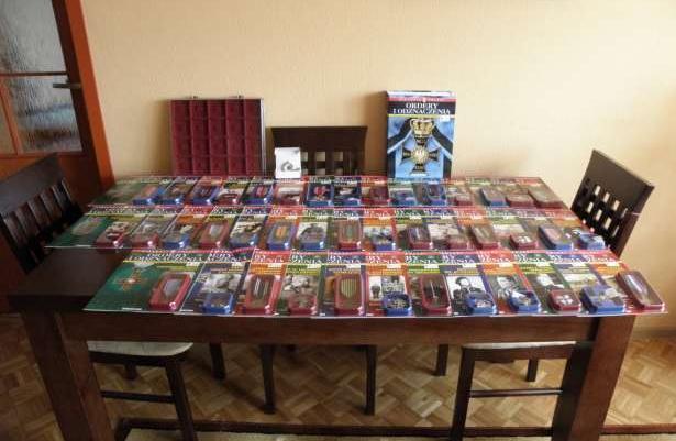 Kolekcja Ordery i Odznaczenia