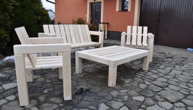 Meble Ogrodowe (Stoł Sofa 2 Fotele) Merano : Meble ogrodowe CUBEŁawa +sofa, 2 fotele rozne KOLORY sprzedaż