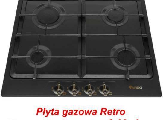Płyta Gazowa Ardo Retro F6V4RN wok piekarnik grill rożen   -> Plyta Gazowa Retro Mastercook