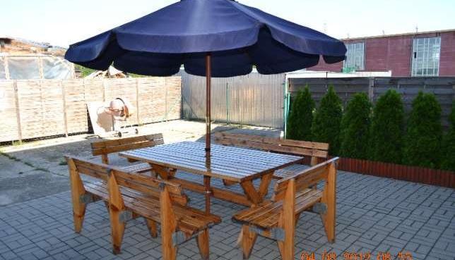Meble Ogrodowe Uzywane Kujawsko Pomorskie : meble ogrodowe stół i 4 ławki sprzedaż  Tuchola, Kujawsko