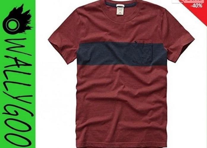 Abercrombie Hollister T-Shirt Koszulka Męski USA M WallyGoo Nowy produkt