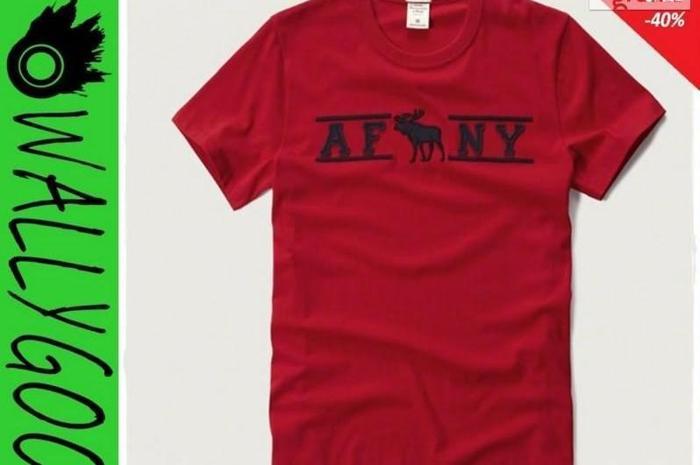 Abercrombie Hollister T-Shirt Koszulka Męski XXL WallyGoo Nowy produkt
