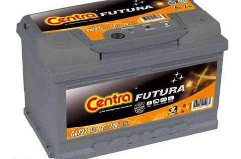 Akumulator CENTRA FUTURA 72Ah 720A nowy