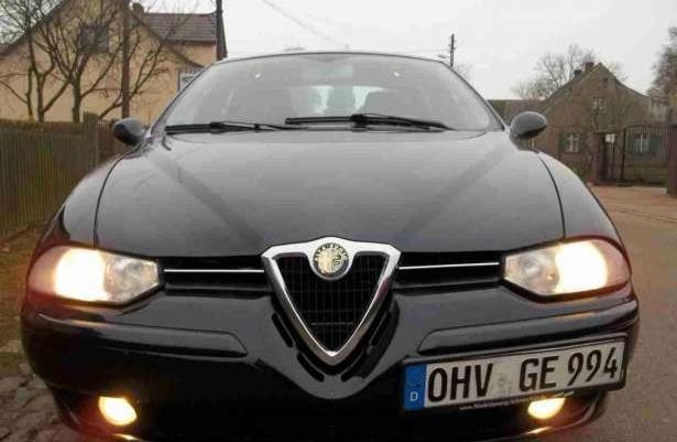 Alfa Romeo 156 Zamiana V6 192 km Klima, skóra 2001