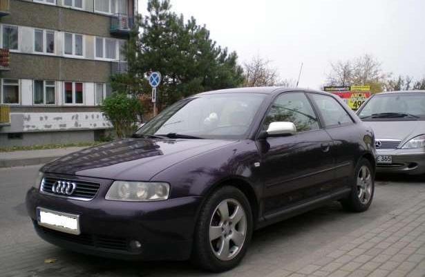 Audi A3 1.9 TDI CHIP 170 KM 6 BIEGÓW 2001