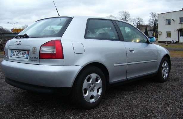Audi A3 19tdi 130ps Klimatronik ładna 2003 Sprzedaż Szczecin