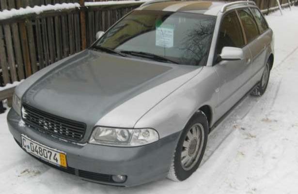 Audi A4 po lifcie 1999