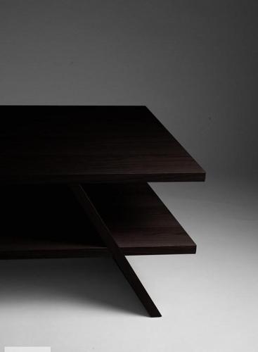 Ława do salonu wenge, wymiary 120x60x50 cm, fornir dębowy Nowy produkt