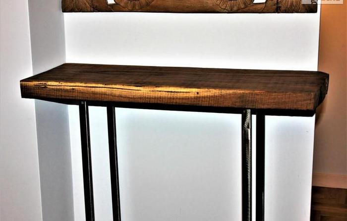 Ławy-Konsole - LOFT Dizajn Metal i Drewno Nowy produkt