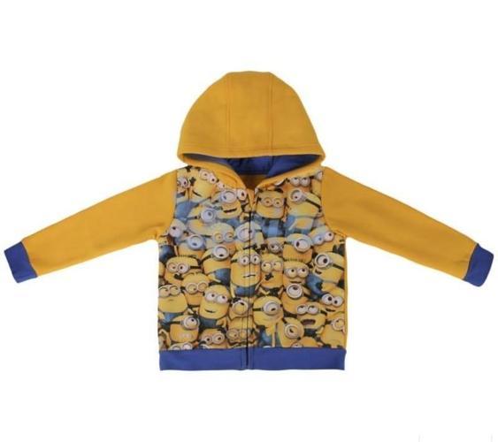 Bluza z kapturem MINIONKI zapinana na zamek LICENCJA Nowy produkt