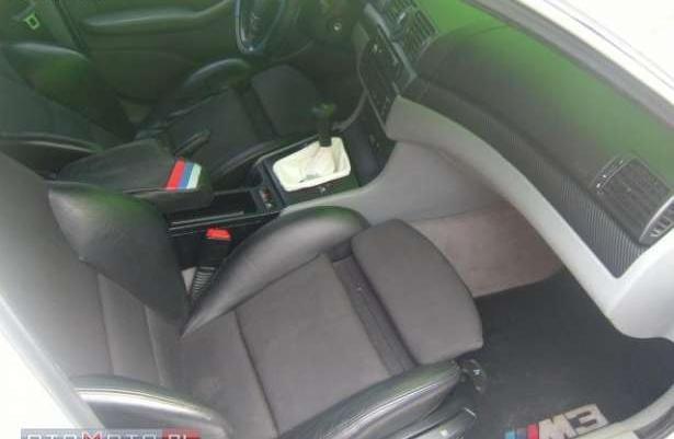 BMW 320 Piękne bmw e46 biała perła 1999