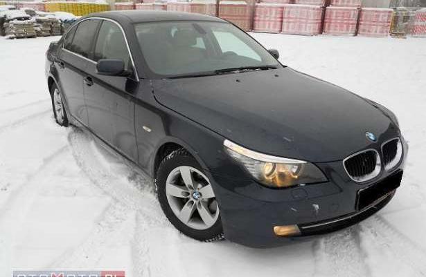 BMW 520 Serwis!!skóra!!zamiana!!! 2008