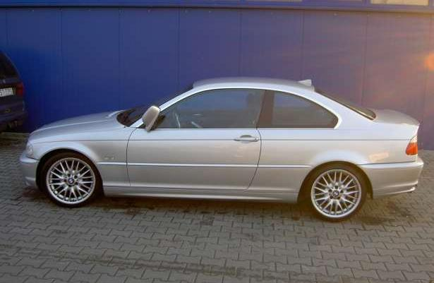 BMW E46 COUPE 2,2 benz + LPG 170 KM