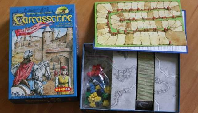 Carcassonne - gra planszowa o zamkach, miastach i rycerzach