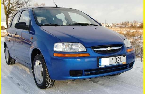 Chevrolet Aveo SALON POLSKA !!! 39 TYS KM!!! 2004