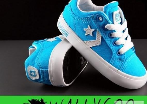 b265eebf19cf6 Converse Trampki Buty Dziecięce Niebieskie USA 23 WallyGoo Nowy produkt