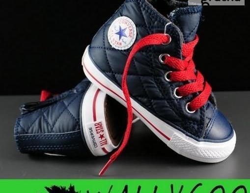 Converse Trampki Buty Dziecięce Pikowane USA 18, 20, 21 WallyGoo Nowy produkt