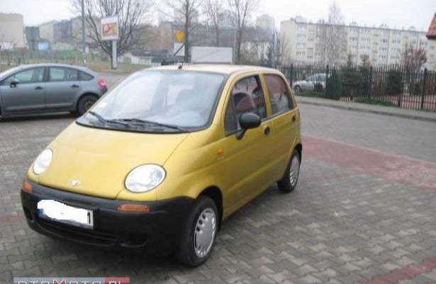 Daewoo Matiz DAEWOO MATIZ 2000