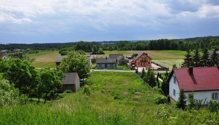 Domy w stanie deweloperskim z pompami ciepła 145m2, działki po 390 m2 - osiedle Olechów ul. Dorabialskiej, tel. 513-502-630, promocja 499tys. www.ziel