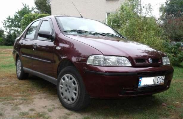 Fiat Albea jak Palio Siena 1.2i 16V LPG 2002