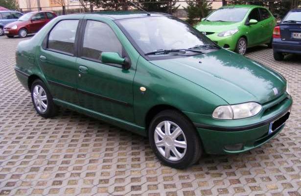 Fiat Siena 1,2 HL, Wspomaganie, Zadbany, 2001 rok