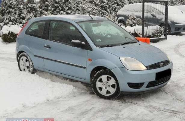 Ford Fiesta Klima!alufelgi!opony ZIMOWE! 2005