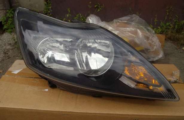 Ford Focus MK2 lift lampy przednie czarne