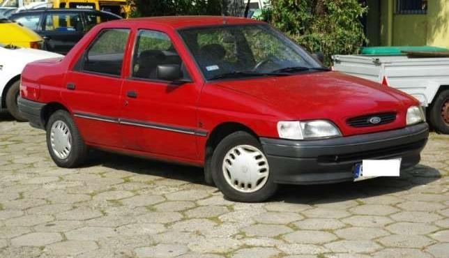 Ford Orion 94r. 1.4 + GAZ, wspomaganie, bez rdzy !!!