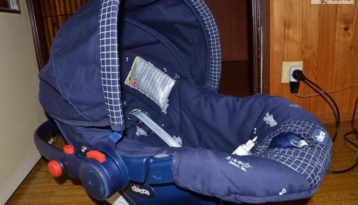 Fotelik-nosidełko firmy Chicco