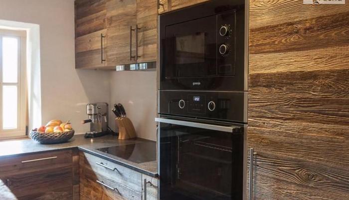 fronty kuchenne ze starego drewna Nowy produkt