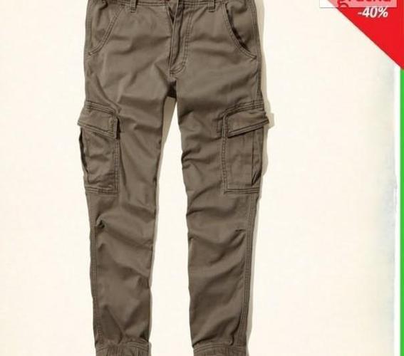 Hollister Abercrombie Spodnie Męskie Joggers 31 WallyGoo Nowy produkt
