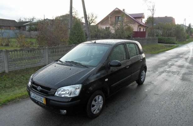 Hyundai Getz Z NIEMIEC ,KLIMA, 85TYŚ 1WŁAŚ 2004