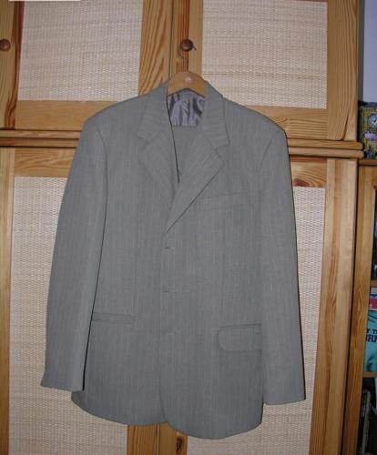 Jasny garnitur męski – 120pln