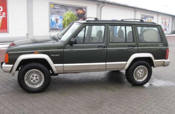 Jeep Cherokee 4x4 2.5TD klimatyzacja,skóra,elektryka,super stan!
