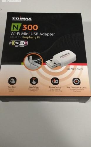 Karta Wifi - Edimax Technology EW-7722UTn V2 WiFi nMAX N300 USB Nowy produkt