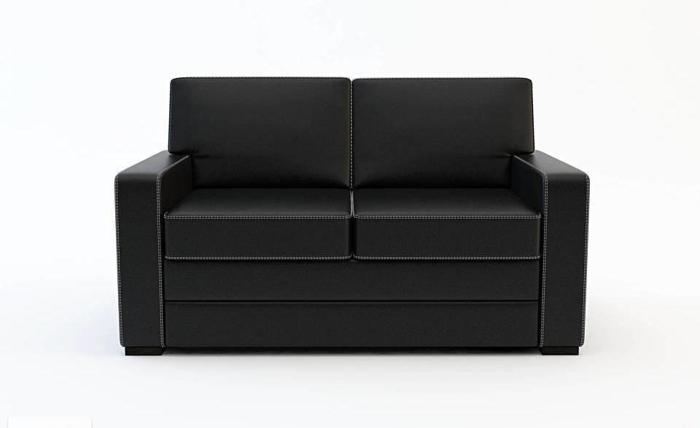 Klasyczna skórzana sofa wysokiej klasy