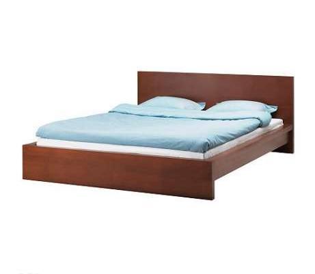 łóżko Nakastliki Stelaż Ikea Model Malm Tanio Sprzedaż