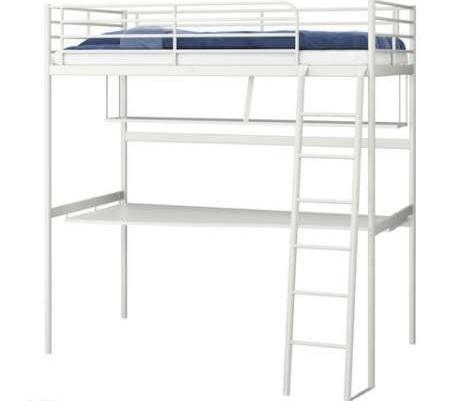 łóżko Piętrowe Ikea Tromsö Biurko Półka Sprzedaż Gdańsk