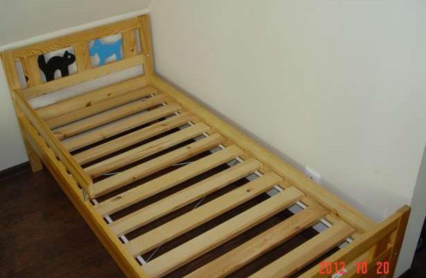 łóżko Pojedyńcze Ikea Seria Kritter Sprzedaż Puck