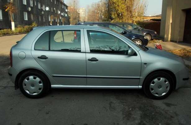 Škoda Fabia Comfort 2000