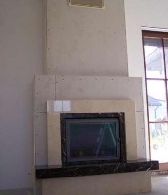 42b7a137e555c Kominek z marmuru, piaskowca, obudowa kominkowa, wkład sprzedaż ...