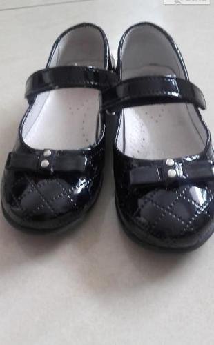 Kornecki eleganckie buty dla dziewczynki+błyszczące balerinki
