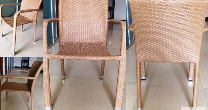 Krzesła ogrodowe / kawiarniane technorattan. Wyprzedaż !