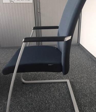 Krzesło na płozie Dauphin Highway (PMM101) - meble biurowe