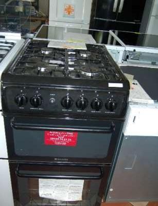 Kuchnia Gazowa Hotpoint Hag51 Podwojny Piekarnik Czyszczenie