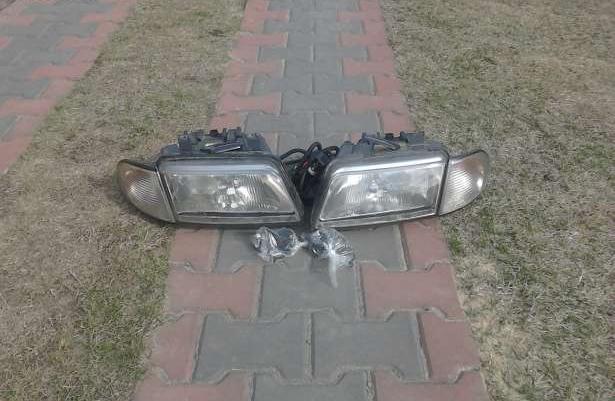 Lampy przednie a4 b5