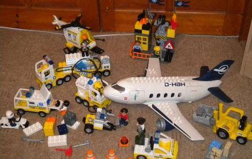 Lego Duplo Lotniskosamolothelikopterpojazdy Itp Sprzedaż