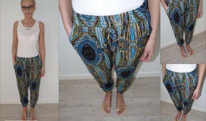 Letnie, modne spodnie! Różne wzory i kolory! Hit Nowy produkt