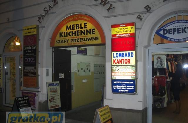 Lokal Kraków Stare Miasto, ul. Długa 47 70 PLN/ m2 inne